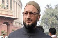 ओवैसी का आरोप- आतंकवादी गतिविधियों को अंजाम दे रहे गौ-रक्षक