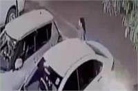 लखनऊ: होटल से निकल रही महिला को गोलियों से भूना, CCTV में कैद हुई वारदात