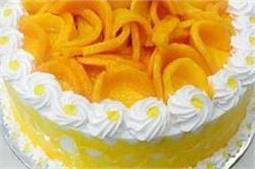 बच्चों के लिए घर पर ही बनाएं मैंगो केक