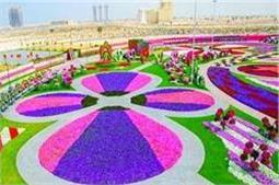 Dubai का खूबसूरत पार्क जो है रंग-बिरंगे फूलों से मशहूर