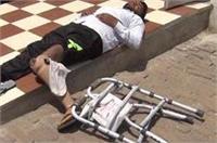 SSP से लेकर योगी तक लगाई थी फरियाद पर नहीं मिला दिव्यांग को इंसाफ