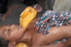 Video-बारिश में नहा रहे बच्चे की करंट लगने से मौत