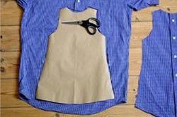 पुरानी Shirts से बनाएं बच्चों के लिए डिजाइनर ड्रैस