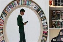 Clever Bookshelf Designs से बिखरी किताबों को इस तरह समेटे