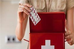 First Aid Box में जरूर होनी चाहिएं ये दवाएं
