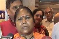 साध्वी निरंजन ज्योति का बड़ा बयान, कहा-मुलायम के दत्तक पुत्र हैं गायत्री प्रजापति