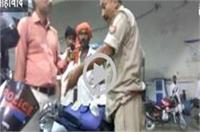 नशे में झूमती दिखी खाकी, दरोगा ने सरेआम पेट्रोल पम्प पर किया हंगामा