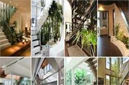 सीढ़ियों के नीचे बनाएं Pebble Garden