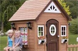 बच्चों के लिए बनवाएं क्यूट और क्रिएटिव PlayHouse