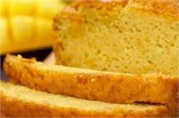 अंडे के बिना बनाएं Mango Loaf Cake