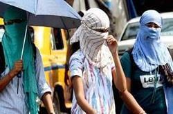 गर्मी से लोगों का हाल बे-हाल, लू की चपेट में लोग बीमार