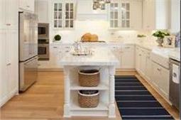 किचन को दें White कलर का टच
