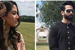 लंदन में शादी अटेंड करने पहुंचे शाहिद-मीरा, दिखा रॉयल लुक