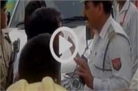BJP विधायक ने ट्रैफिक पुलिसकर्मी के साथ की मारपीट, वीडियो वायरल