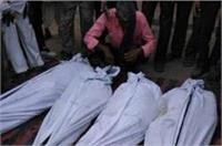 यूपीः ट्रक और कार में भीषण टक्कर, 2 मासूमों समेत 7 की दर्दनाक मौत