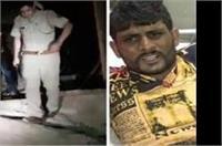 पुलिस मुठभेड़ के दौरान गिरफ्तार हुआ इनामी बदमाश इसरान
