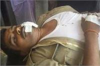 दबिश करने जा रही पुलिस के साथ हुआ दर्दनाक हादसा, 1 की मौत 7 घायल