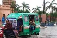 यूपीः मानसून की पहली दस्तक बनी आफत, 48 घंटों में तेज बारिश के चलते हाई अलर्ट जारी