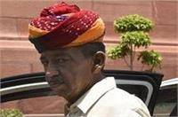 अमित शाह की बैठक के दौरान बेहोश हुए पूर्व मंत्री सांवरलाल जाट