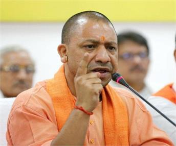 सपा सरकार ने किया पुलिस को 'राजनीतिक हथियार' बनाने का 'पाप': योगी