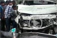 ट्रक और कार की भिड़ंत में एक ही परिवार के 5 सदस्यों की दर्दनाक मौत, 4 घायल
