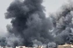 संघर्ष विराम के बावजूद दमिश्क के निकट हवाई हमले