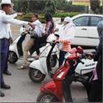 यूपीः यातयात नियमों की अनदेखी करने वालों की खैर नहीं