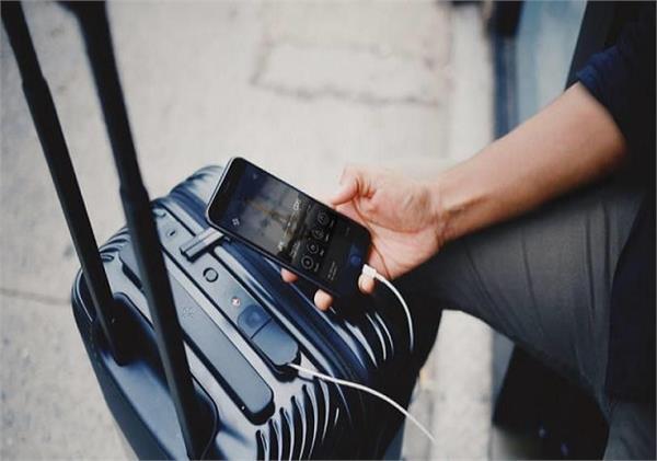 सामान पैक करने के अलावा आधुनिक फीचर्स से लैस है यह Smart luggage