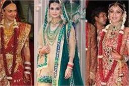 बिपाशा ने शादी पर पहनी 7 लाख की साड़ी, इन एक्ट्रैस के वैडिंग ड्रैस की कीमत जान उड़ जाएंगे होश