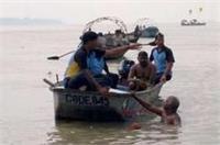 इलाहाबादः गणेश चतुर्थी पर संगम में नहाने गए 3 युवक डूबे, तलाश जारी