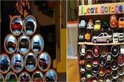 बेकार चीजों को फैंके नहीं, बनाएं Paper Roll Toy Storage