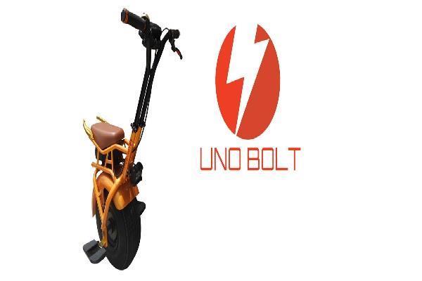 45 मिनट चार्ज होकर 40 किलोमीटर तक चलेगा UNO BOLT E-UNICYCLE