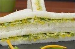टेस्टी और हैल्दी वेज मेयोनेज सैंडविच