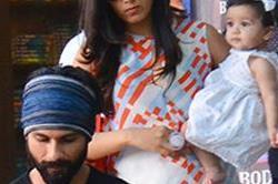 शाहिद की बेटी मीशा मना रही है अपना फर्स्ट बर्थडे, देखें क्यूट तस्वीरें