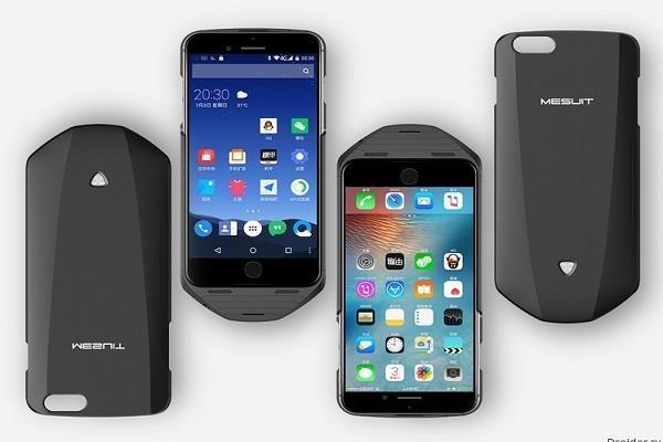 iPhone को एंड्रायड फोन में तब्दील करेगा यह 'स्मार्ट केस', (वीडियो)