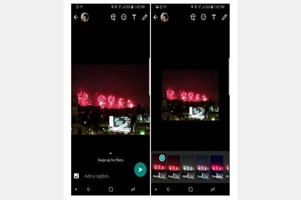 एंड्रॉयड पर जल्द आ सकता है WhatsApp का फोटो फिल्टर फीचर