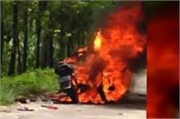 पुराने विवाद के चलते 2 गुटों में मारपीट, दर्जनों लहूलुहान, 3 बाइक जलकर खाक