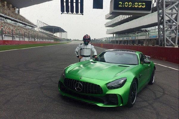 Mercedes की इस कार ने BIC पर बनाया रिकार्ड, बनी सबसे तेज़ कार