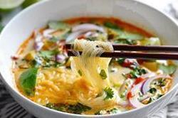 थाई करी वेजीटेबल सूप