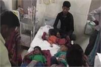 बच्चों पर मौसम का कहर, इमरजेंसी वार्ड में पैर रखने की जगह नहीं