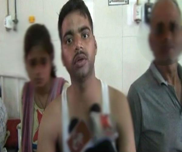 यूपी पुलिस का क्रूर चेहरा फिर आया सामने, दिव्यांग को पीट पीटकर किया अधमरा