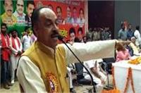 BJP नेता का कांग्रेस पर तीखा वार, सोनिया-राहुल को लेकर दिया ये विवादित बयान