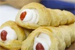 बच्चों को खूब पसंद आएगे Cream Roll