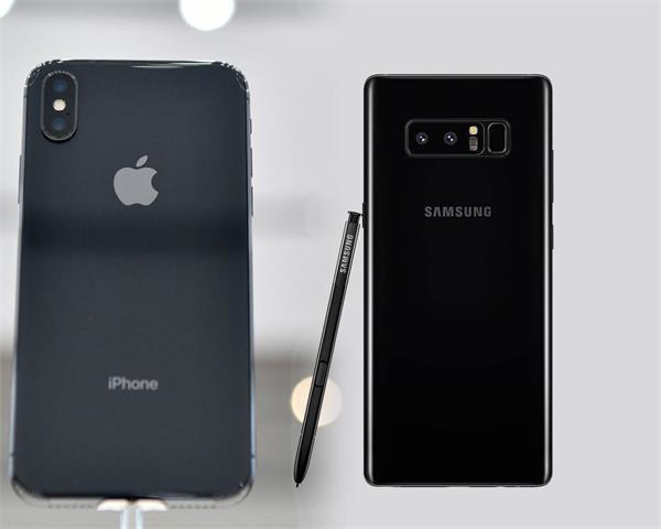Samsung Galaxy Note 8 vs iPhone 8, जानिए-कौन सा आपके लिए बेहतर?
