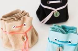घर पर बनाएं बिना सिलाई ज्वैलरी pouch