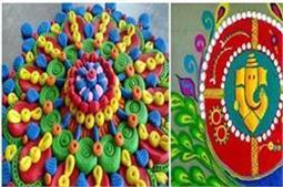 Festive Season : इस दीवाली घर में बनाएं ये यूनिक रंगोली Designs