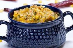 घर पर झटपट बनाएं Masala Corn Sabzi