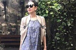 करिश्मा का नया फैशन, मैक्सी के साथ ट्राई की बोम्बर जैकेट