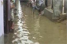 कागजी कामों पर भारी पड़ी मूसलाधार बारिश, खुली नगरपालिका की पोल
