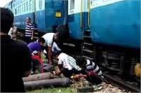 फिर टला रेल हादसाः आगरा में डीरेल हुई पैसेंजर ट्रेन